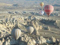 white valley — at Kapadokya, Turkey.