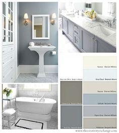 Choosing Bathroom Wall And Cabinet Colors Paint It Monday The Creativity  Exchange #bathroomRemodel