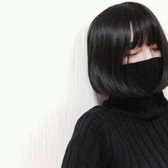 รูปภาพ asian, asian girl, and black