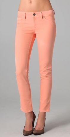 i need some colored jeans for spring!