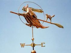 Image detail for -witch weathervanes loosely based on the wicked witch of the west from ...