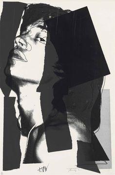 Andy Warhol (1928-1987), Mick Jagger.  Imagem 1.080 x 705 mm Folha de 1.115 x 737 mm.  Estimar £ 15,000-25,000.  Este lote é oferecido em cópias & Multiples em 21 de Setembro de 2016, Christie, em Londres, King Street