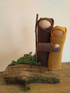Xmas Crafts, Planter Pots, Christmas Decorations, Ideas, Christmas Houses, Christmas Ornaments, Births, Nativity Scenes, Manualidades