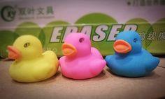 Kawaii Paperetta Duck Iwako Gomma Rubber Collezione Eraser