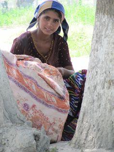 beautiful girl in uzbekistan