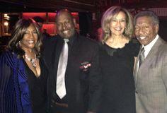 Mary Wilson, Felix Giles, Marilyn McCoo and Billy Davis Jr.