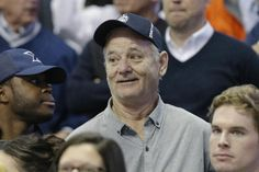 FILE - In this Feb. 28, 2016 file photo, actor Bill Murray attends an NCAA college basketball game between Xavier and Villanova, in Cincinnati. Murray was the first and last guest on David Letterman's late-night show, and Letterman will return the favor by making a rare public appearance when Murray is presented with the nation's top prize for humor. On Tuesday, Se[t. 14, 2016, The Kennedy Center announced the lineup of performers for next month's celebration of Murray, who'll receive the…
