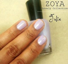 Zoya Nail Polish in Julie from the Lovely Collection swatch!
