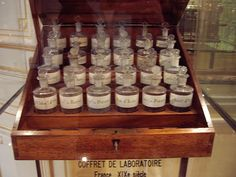 This is a Perfume Coffret from the 19th century: Fragonard Perfume Coffret