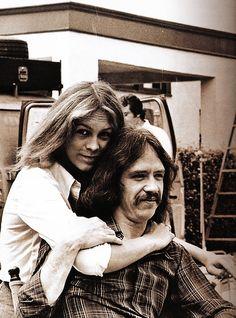 Jamie Lee Curtis and John Carpente -1978