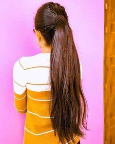 Long Hair Ponytail, Ponytail Hairstyles, Indian Hairstyles, Gorgeous Hair, Long Hair Styles, Beauty, Floor, Women, Fashion