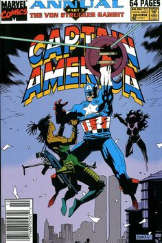 Captain America Annual #10 (Marvel Comics - 1991)  Illustrator: Mike Mignola