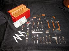 1960s Marx Miniature Tool Set with Chest Awesome FREE SHIPPING. $149.95, via Etsy.