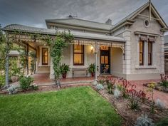 49 Eton Street, Malvern, SA View property details and sold price of 49 Eton Street & other properties in Malvern, SA Ranch Exterior, Stucco Exterior, Craftsman Exterior, Exterior Design, Colonial Exterior, Exterior Shutters, Grey Exterior, Exterior Cladding, Building Exterior