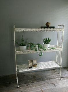 art deco plant stand
