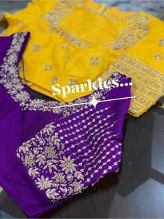 Kids Blouse Designs, Hand Work Blouse Design, Stylish Blouse Design, Fancy Blouse Designs, Maggam Work Designs, Embroidery Suits Design, Latest Maggam Work Blouses, Maggam Works, Indian Weddings