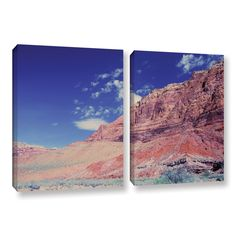 Utah-Paria Canyon by Dan Wilson 2 Piece Gallery-Wrapped Canvas Set