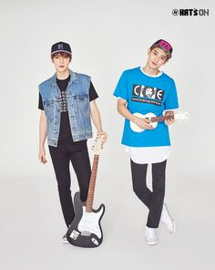EXO Sehun & Chanyeol - Hat's On (S/S '16)