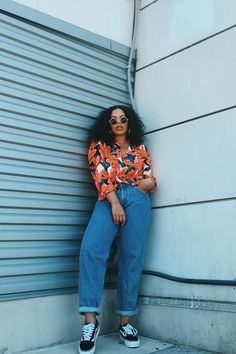 57 Outfit Ideas How To Wear Tropical Print 2020 - Fashion Canons Curvy Girl Outfits, Cute Casual Outfits, Chic Outfits, Plus Size Outfits, Summer Outfits, Fashion Outfits, Black Girl Fashion, Curvy Fashion, Look Fashion