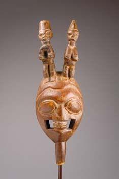 Yoruba Oloju Foforo Mask, Ekiti - Osi Ilorin, Nigeria