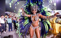 Monalisa Marques - Unidos de Vila Maria   Conheça as musas do Carnaval 2016 de São Paulo