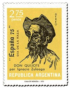 Argentina 1975 - ültima estampilla de correo aéreo
