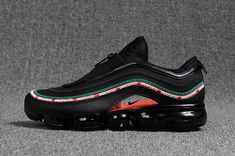 3f855e69f767 Factory Authentic New 2018 Nike Air Max 97 Vapormax Kpu Zipper Undftd Black  Shoe