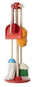 Amazon.com: Melissa & Doug Let's Play House! Dust, Sweep and Mop: Melissa & Doug: Toys & Games