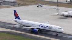 ONUR AIR AIRBUS A321 TC-ONJ ATATURK AIRPORT:ISTANBUL AIRSIDE Onur Air, Istanbul, Aircraft, Aviation, Planes, Airplane, Airplanes, Plane
