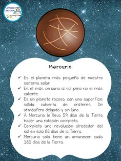 Magnifico cuaderno para trabajar el SISTEMA SOLAR – Imagenes Educativas Space Projects, Science Projects, School Projects, Solar System Projects, Our Solar System, Solar System Worksheets, Small Planet, Teaching Spanish, Spanish Classroom