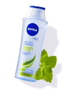 NIVEA Anti Fett Shampoo Fresh Energy. Erhältlich im NIVEA Shop http://shop.nivea.de/nivea-anti-fett-shampoo-fresh-energy.html #haarpflege #haircare