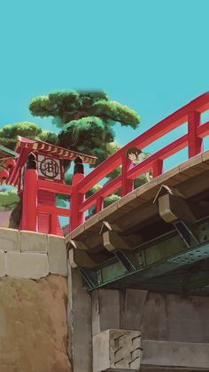 Studio Ghibli Art, Studio Ghibli Movies, Animes Wallpapers, Cute Wallpapers, Pastel Wallpaper, Cool Wallpaper, Personajes Studio Ghibli, Studio Ghibli Background, Chihiro Y Haku