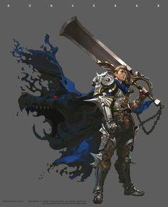 花瓣网- seok : berserkr by cho kyeong seok on ArtStation. Fantasy Armor, Fantasy Weapons, Anime Fantasy, Medieval Fantasy, Dark Fantasy, Fantasy Character Design, Character Design Inspiration, Character Concept, Character Art