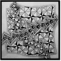 Zentangle Challenge # 184 | Xplore & Xpress