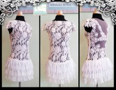 WEDDING DRESS Style and HandMade By ArtEcò Creazioni di Annalisa Benedetti 100% made in Italy #artecocreazioni #annalisabenedetti #handmade #style #wedding #bridal