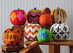 pumpkin decorating without carving | Check out these DIY Ombre Candy Corn Bottles , or instead of throwing ...