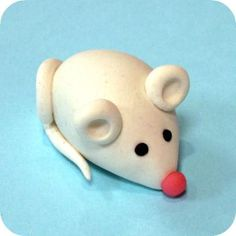 Marzipan Animals | Marzipan Animals : Mighty Mouse