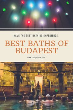 Budapest the city of Spas. It has some amazing thermal bath places and here you will find the best ones to visit in Budapest when you are here on your trip. Visit Rudas Thermal Bath and Széchenyi Thermal Bath for the best and most complete bathing experience in Budapest, Hungary.