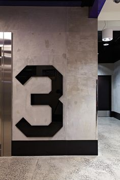 Interior Design - Floor number - Sleek, Simple, Industrial, Polished, Rough, Sharp edges & corners
