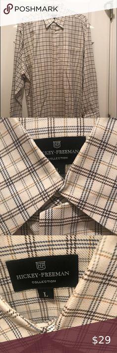S-XL NWT Men/'s Thick Work Style Button Down Dress shirt *Beige /& *Navy SZ
