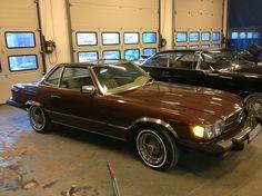 Mercedes-Benz SL 450 1977, 182000 km, kr 75000,- -kr 65 000,-