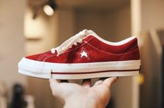 """Converse One Star Suede Made in Japan """"Red"""" / 컨버스 원스타 재팬 스웨이드 타임라인 """"레드"""" : 네이버 블로그"""