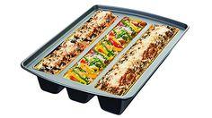 #metallic #lasagna #trio #pan