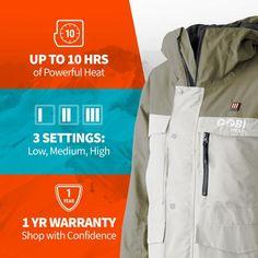 Shift Womens Heated Snowboard Jacket - 9 Hour Battery - GOBI HEAT® Heated Jacket, Comfort Design, Range Of Motion, Snowboard, Hoodies, Jackets, Women, Down Jackets, Sweatshirts