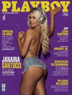 Fotos de Janaina Santucci nua na Playboy. A nudez espetacular da DJ mais gata e gostosa do Brasil clicada pelo fotógrafo Daniel Aratangy na edição de junho de 2015.  Famosa nua: Janaina Santucci Revistas: Playboy Editora: Abril