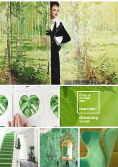 """dvdInteriorDesign.comPantone's color of the year, """"Greenery""""  top inspirations from around the globe for your home."""