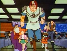 Jayce and the Wheeled Warriors (Jayce e os Guerreiros do Espaço) / 1985 / DiC Entertainment #cartoons