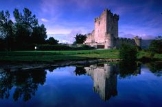Ross Castle: See the cunning spiral staircase at this County Kerry gem. Every step is a different height to break an attacker's stride.