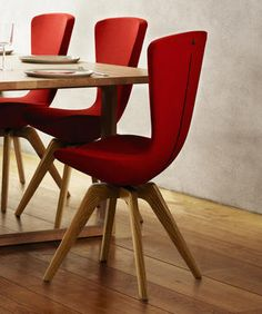 "Varier ""invite"" dining chair. Aesthetically AND ergonomically smart."