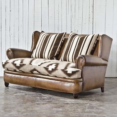 English Winged Loveseat - Sofas / Loveseats - RLH Collection - Products - Ralph Lauren Home - RalphLaurenHome.com